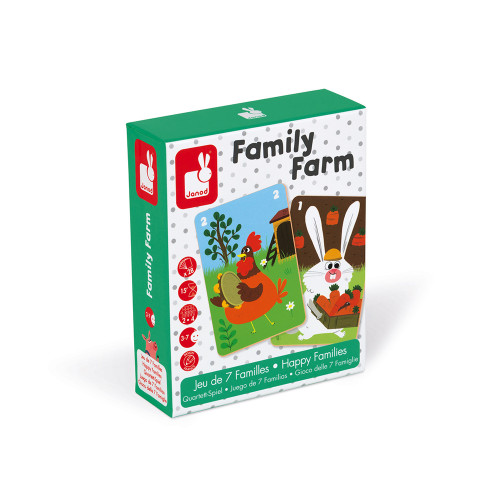 Janod Karte Happy Family