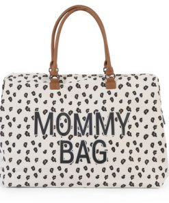 Torba Mommy Bag Big Canvas Leopard