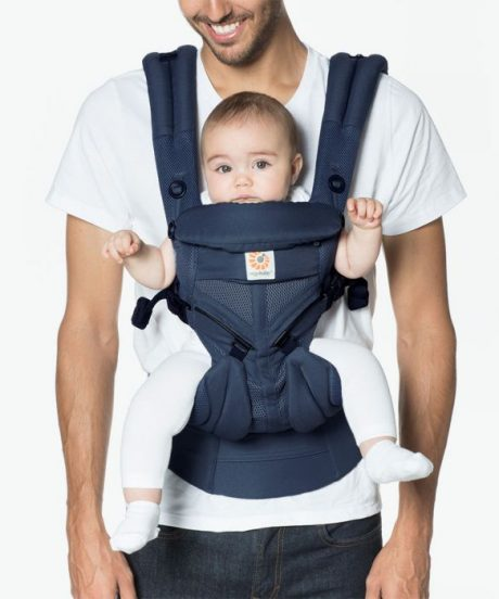 Ergobaby Omni 360 baby carrier all-in-one Cool Air Mesh: Midnight Blue