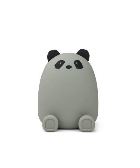 LIEWOOD® Otroški hranilnik iz silikona Palma Panda Dove Blue