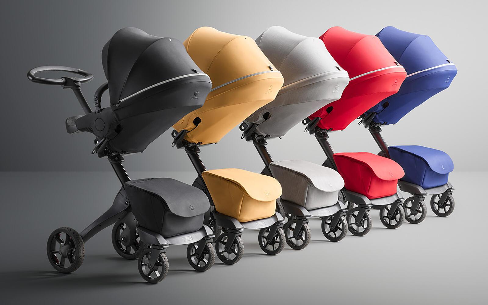 Stokke® Košara za novorojenčka Xplory® X Modern Grey