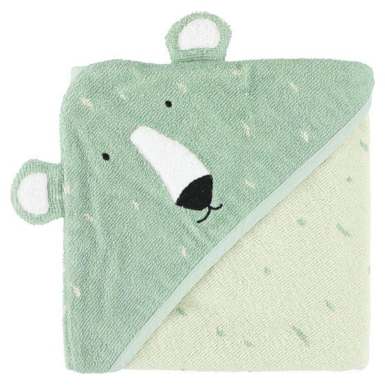 Trixie Brisača s kapuco Mr. Polar Bear 75x75cm