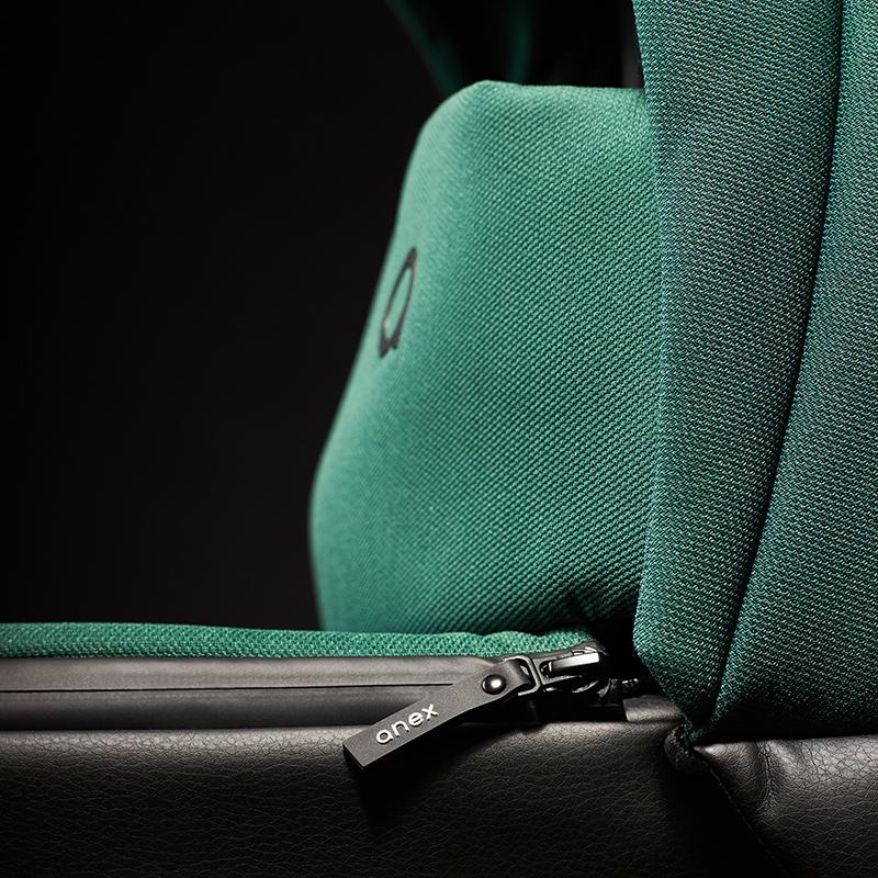 Anex® Otroški voziček M-Type 2v1 s košaro in nahrbtnikom Lime   All4Kids.si